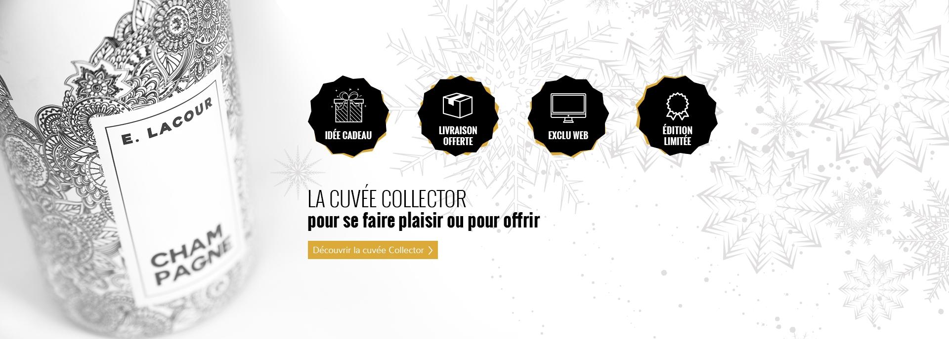 La cuvée Collector pour se faire plaisir ou pour offrir - Champagne E.Lacour